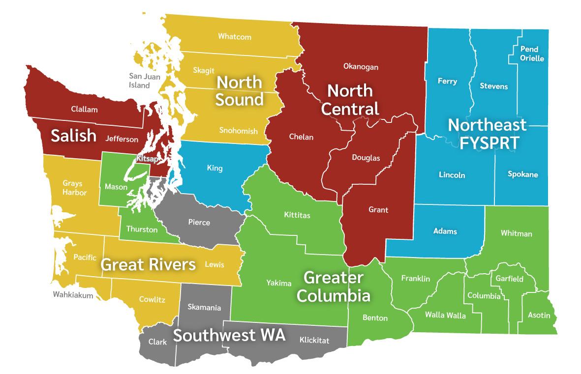 Washington FYSPRT Chapters